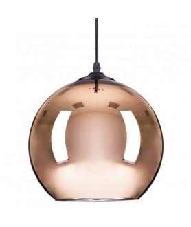 Lampa wisząca MIRROR GLOW M miedziana 30cm STEP INTO DESIGN