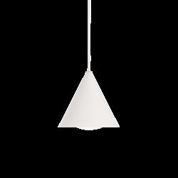 Lampa wisząca stożek biała...