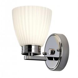 Kinkiet klasyczny łazienkowy chrom Wallingford 1 BATH-WL1 IP44 ELSTEAD LIGHTING