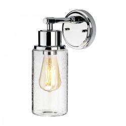 Kinkiet klasyczny łazienkowy chrom Morvah 1 BATH-MORVAH1-PC IP44 ELSTEAD LIGHTING