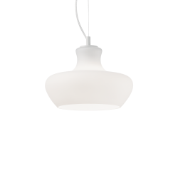 Lampa wisząca szklana fi30 ALADINO SP1 D30 137315 IDEAL LUX