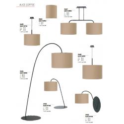 Lampa podłogowa ALICE I coffee L 3464 NOWODVORSKI
