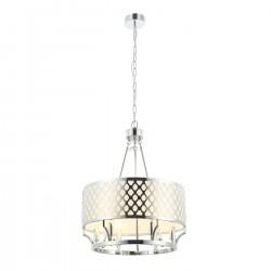 Lampa wisząca w stylu Hampton FI55 żyrandol chrom Verno Cromo Design