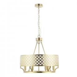 Lampa wisząca w stylu Hampton FI55 żyrandol złoty Verno Old Gold Design