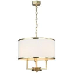 Lampa wisząca w stylu Hampton FI35 złoty glamour Casa Old Gold S Orlicki Design