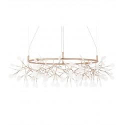 lampa inspirowana heracleum