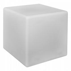 Lampa zewnętrzna dekoracyjna kostka do ogrodu biała Cumulus Cube M 8966 NOWODVORSKI