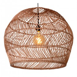 Lampa wisząca w stylu balijskim boho MOLOKO 03437/60/44 czarna Lucide