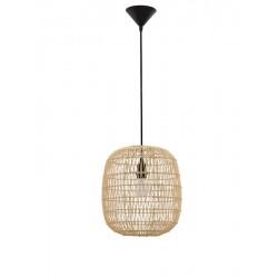 Lampa wisząca w stylu balijskim boho MELODIA CL9858719 ratan naturalny