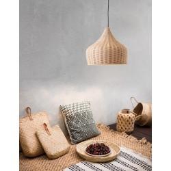 Lampa wisząca w stylu balijskim boho MAI CL9594341 ratan naturalny