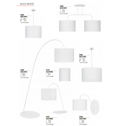 Lampa podłogowa ALICE I ecru L 3457 NOWODVORSKI