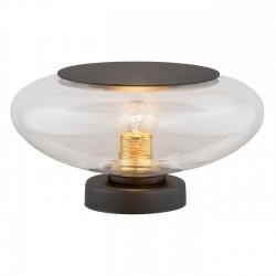 Lampa stołowa AURORA 4114 przezroczysty/czarny ARGON