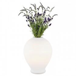 Lampa stołowa z funkcją wazonu AMARYLIS 4095 biała ARGON