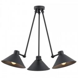 Lampa wisząca ALTEA 1452 czarna ARGON