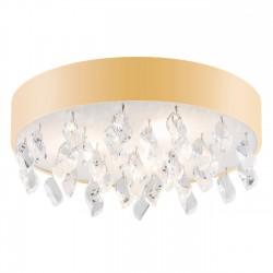 Lampa plafon z kryształkami BELLA 1497 złoty ARGON