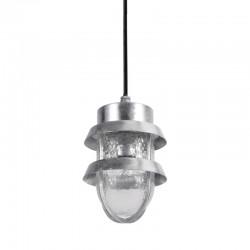 Lampa wisząca TIVOLI  6634/G srebrny ITALUX
