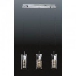 Lampa wisząca VERIZON MD109003-3B przezroczysty ITALUX