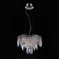 Lampa wisząca LAVENDA MD92915-10A chrom ITALUX