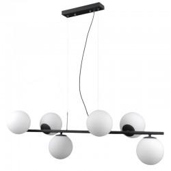 Lampa wisząca RADDI PND-5510-6-BK czarny ITALUX