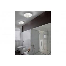 Plafon dekoracyjny Optimus rondo białe szkło fi53 AZ1600 Azzardo