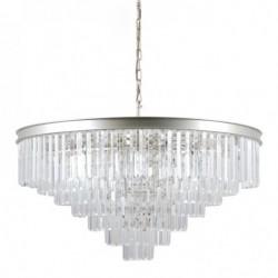 Lampa wisząca VERDES PND-44372-14-CHMP-GLD złoty ITALUX