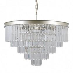 Lampa wisząca VERDES PND-44372-11-CHMP-GLD złoty ITALUX