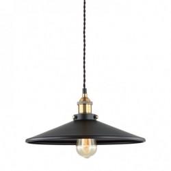 Lampa wisząca VERDA MDM-3458/1L BK+GD czarny ITALUX