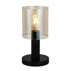 Lampa stołowa SARDO TB-5581-1-BK+AMB czarny ITALUX