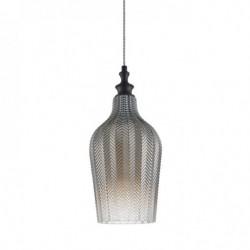 Lampa wisząca SABRES PND-8014-1C-SM czarny ITALUX