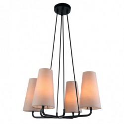 Lampa wisząca PRIMO MDM-3545/4 BK+LIGHT GR czarny ITALUX
