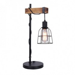 Lampa biurkowa PONTE TB-4290-1 czarny ITALUX