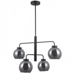 Lampa wisząca POGGI PND-28028-4D czarny ITALUX