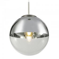 Lampa wisząca kula chrom transparentny fi30 VARUS 15853 GLOBO