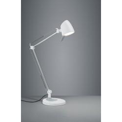 Lampa biurkowa chrom biały regulowana RADO 527690131 TRIO
