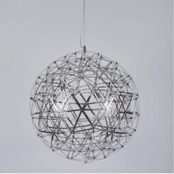 Lampa wisząca inspirowana GALAXY M LED CHROM 60 CM ST-5340A-60 SID