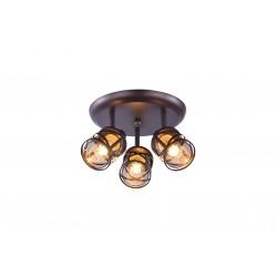 Plafon OBERON 5337R brązowy...