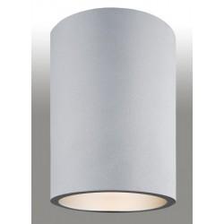 Plafon Tuba TYBER 473 ARGON srebrny