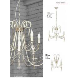 Lampa wisząca TWIST white X 4985 NOWODVORSKI