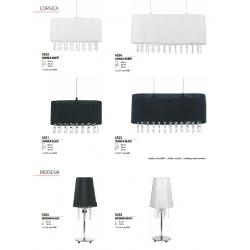Lampa wisząca MODENA I black 4014 NOWODVORSKI
