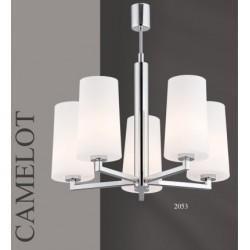 Żyrandol CAMELOT 2053 biały/chrom ARGON