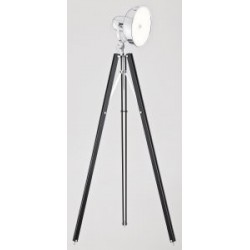 Lampa podłogowa FOTO NEW 3355 czarny/chrom ARGON