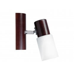 Kinkiet KIRA WOOD 2210135 wenge/biały SPOT LIGHT