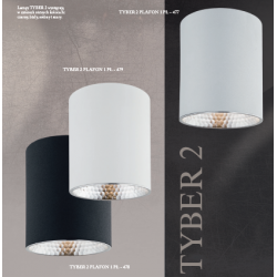 Plafon LED TYBER 3119 ARGON biały