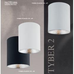 Plafon LED TYBER 3118 ARGON czarny