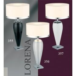 Lampa biurkowa LORENA 355 duża czarna ARGON