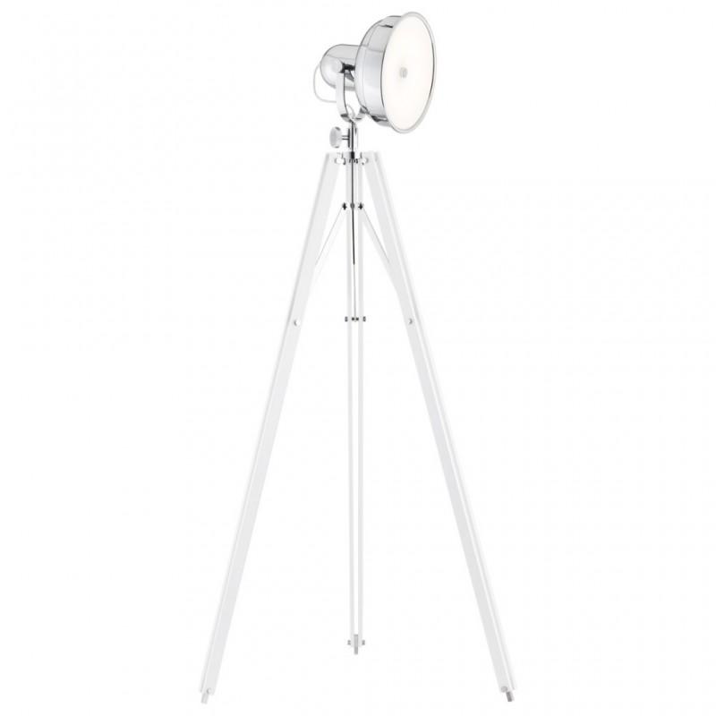Lampa podłogowa FOTO NEW 3356 biały/chrom ARGON